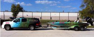 Vehicle Wraps & Graphics custom truck boat wrap combo 300x120